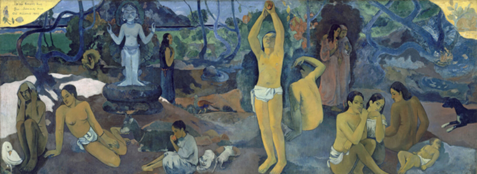Paul Gauguin, 'D'où venons-nous? Que sommes-nous? Où allons-nous? (Where Do We Come From? What Are We? Where Are We Going?)'