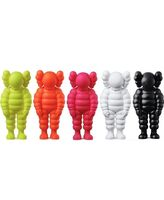 "KAWS, ' ""What Party"" CHUM Figures 5 pieces', 2020"