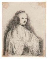 Rembrandt van Rijn, 'The Little Jewish Bride (Saskia as Saint Catherine)'