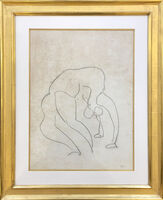 Henri Matisse, 'Drawing for planche 420/10 of Danseuse Acrobates', 1931
