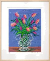 David Hockney, 'A Bigger Book with Untitled 346 (Tulips)'