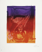 Jasper Johns, 'Figure 7, from Color Numeral Series', 1969