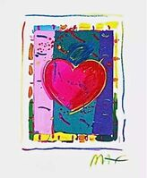 Peter Max, 'Heart Series IV', 1998