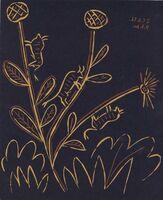 Pablo Picasso, 'Plante aux Toritos', 1962