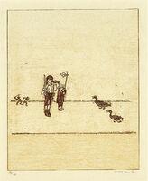 Max Ernst, ' La ballade du soldat', 1972