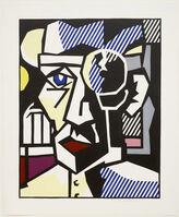 Roy Lichtenstein, 'Dr. Waldmann from the Expressionist Woodcut Series', 1980