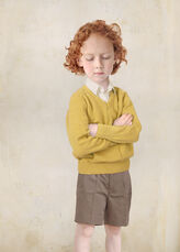 Boy in Yellow Pullover