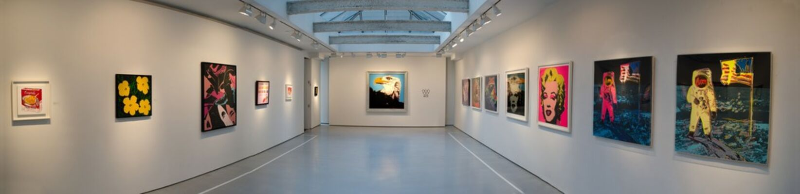 Andy Warhol: Idolized, installation view