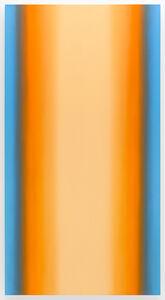 Ruth Pastine, 'Witness 5-V9048, (Blue Orange Light), Witness Series', 2016