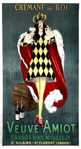 Leonetto Cappiello, 'Veuve Amiot / Cremant du Roi', 1922