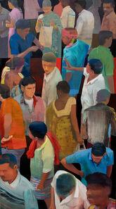 Suhas Bhujbal, 'Market #17', 202