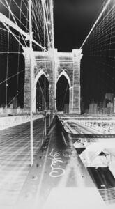Vera Lutter, 'Brooklyn Bridge: June 11', 2015
