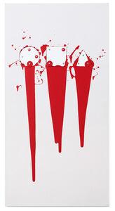 Gary Kuehn, 'Eternal Figures Bleeding', 2017