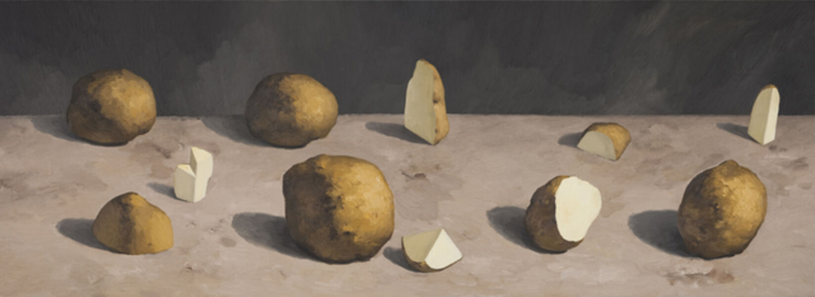 Yan Bing, 'Cutting Potatoes No.5', 2015