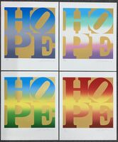 Robert Indiana, 'Four Season of Hope (Gold, Available as a Full Set or Individually)', 2012