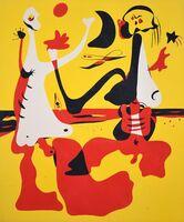 Joan Miró, 'Pochoir', 1934