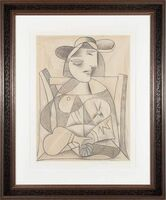 Pablo Picasso, 'Femme aux mains jointes (Marie-Therese Walter)', 1938; 1979-82