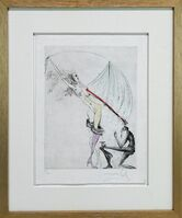 "Salvador Dalí, 'Venus in Furs ""The Purple Boot""', 1969"