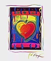 Peter Max, 'Heart Series V', 1998