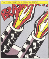 Roy Lichtenstein, 'As I Opened Fire (ante-mortem edition)', ca. 1966