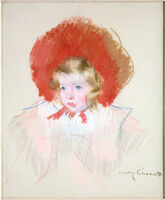 Mary Cassatt, 'Child with Red Hat', ca. 1904