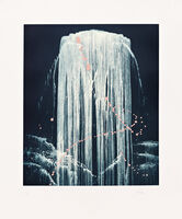 Pat Steir, 'August Waterfall', 2000