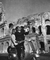 Slim Aarons, 'Jazz Scooter, Rome, Louis Armstrong', 1948