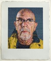 Chuck Close, 'Self-Portrait', 2012