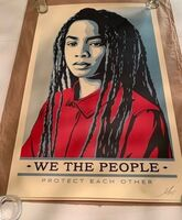 Shepard Fairey, 'We the People Set (offset)', 2017