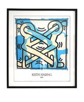 Keith Haring, '1985 Art Attack on Aids', 1980's-1990's