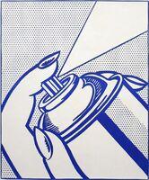Roy Lichtenstein, 'Spray Can', 1963