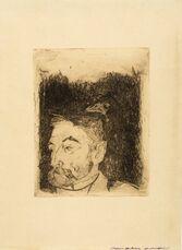 Portrait de Stéphane Mallarmé (Mongan/Kornfeld/Joachim 12 II Ba)