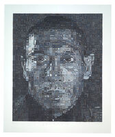 Chuck Close, 'Zhang Huan II', 2013