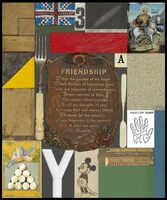 Peter Blake, 'Friendship (from Wooden Puzzle Series)', 2013