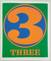 "Robert Indiana, 'Three (from the ""Numbers"" suite)', 1968"