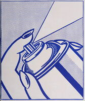 Roy Lichtenstein, 'Spray Can (1 cent life), 1964', 1964