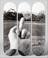 Ai Weiwei, 'Fu#k! the Trump White House (Study of Perspective)', 2017