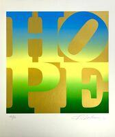 Robert Indiana, 'Spring, Four Seasons of Hope, Gold Portfolio', 2012