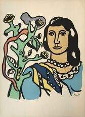 Woman with Tree