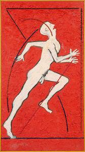 Derek Boshier, 'Running Reaching Figure', 1979