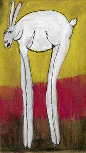 Johnny Lieberman, '(Tall) Rabbit # 3', 2018