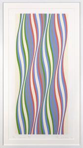 Bridget Riley, 'Blue Dominance', 1977