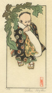 Helen Hyde, 'The Daikon and the Baby', 1903