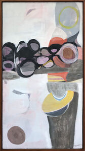 Beatrice Mandelman, 'Circles Formerly (60-P04)', ca. 1960