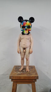 Samuel Salcedo, 'Untitled, collaboration with Okuda', 2018