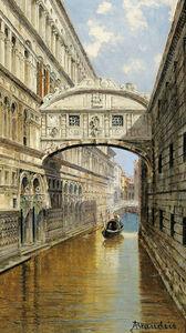 Antonietta Brandeis, 'Bridge of Sighs, Venice', ca. 1900