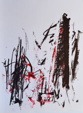 Arbres (Black and Red)