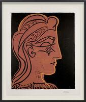 Pablo Picasso, 'Tête de Femme (de Profil)', 1959