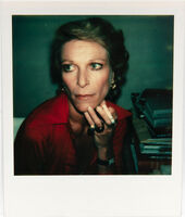 Andy Warhol, 'Polaroid Photograph of Nan Kempner', 1973