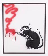 Banksy, 'Graffiti Rat', 2015